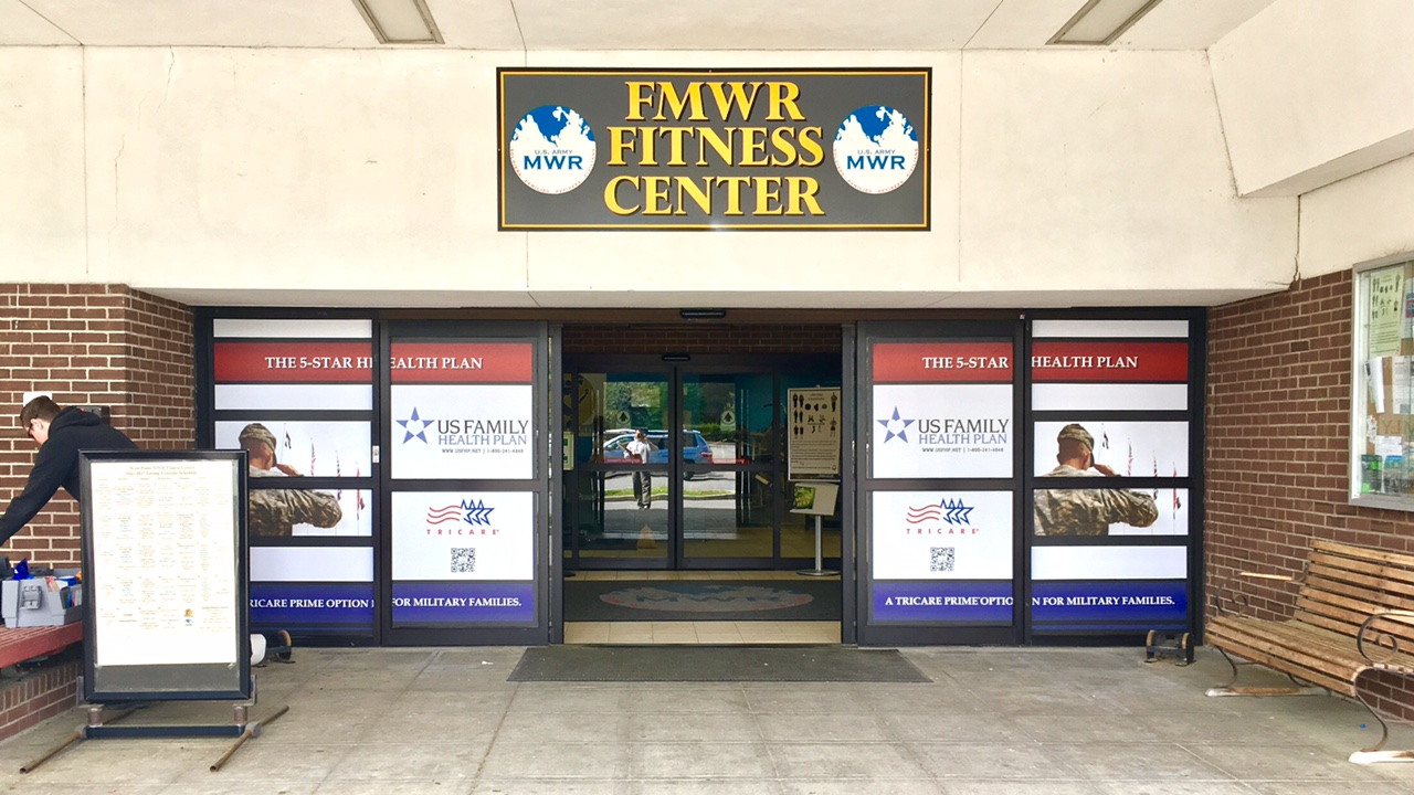 Fitness Center  - Window Wrap Advertising