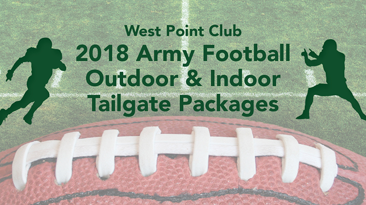2018 Army Football Outdoor & Indooor Tailgate Packages