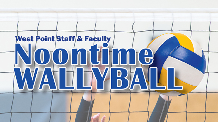 Staff & Faculty Noontime Wallyball