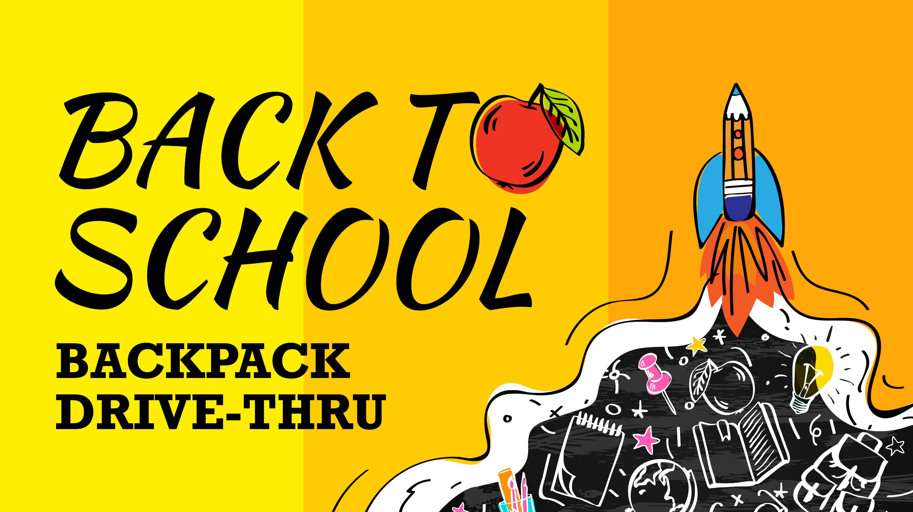 Back to School: Backpack Drive-Thru