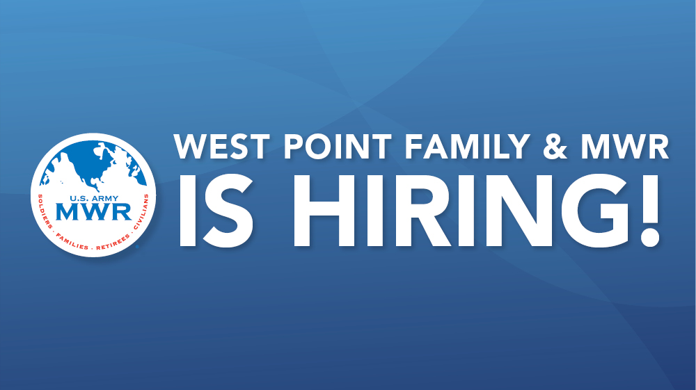 Family & MWR is hiring!