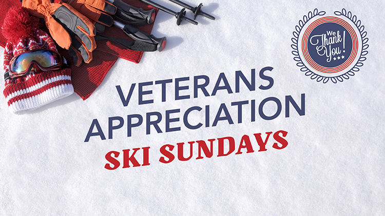 Veterans Appreciation Ski Sundays