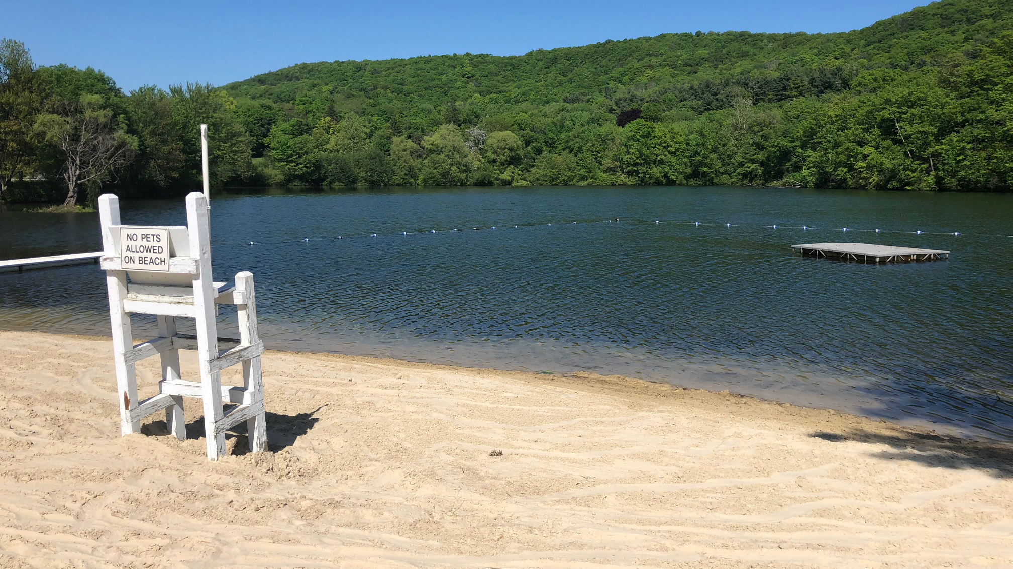 Lake Frederick Beach Area