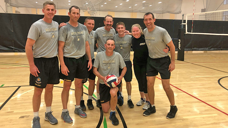2019 West Point Community Noontime Volleyball champions.