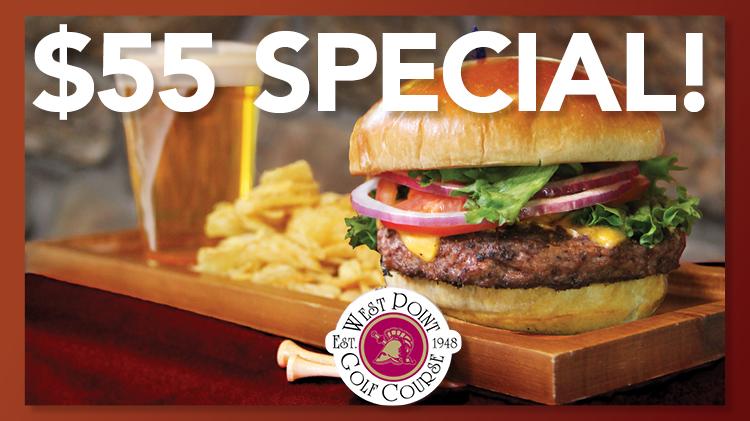 18 Hole Burger Promo