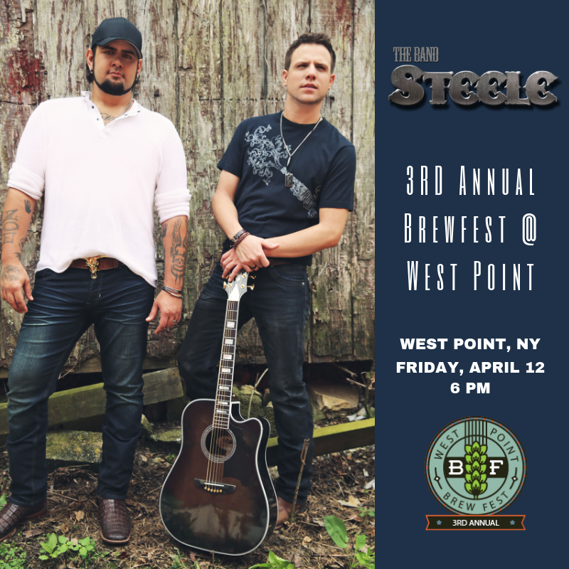 The Band Steele_Brew Fest Promotional Poster_2019.png