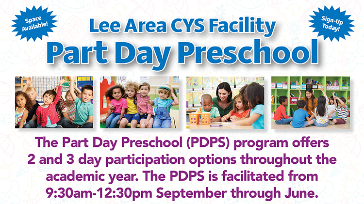 Lee Area CYS Facility Part Day Preschool