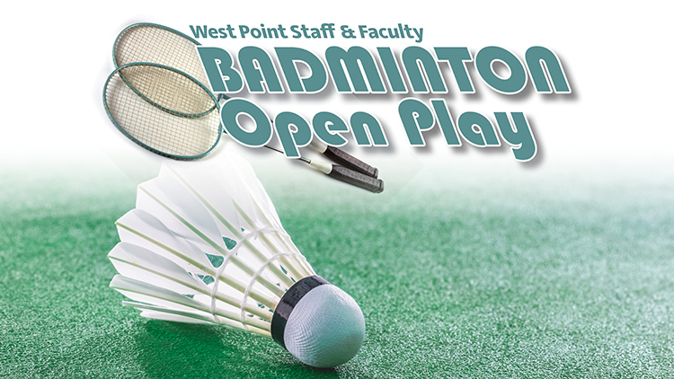 Staff & Faculty Badminton Open Play