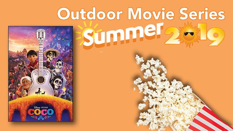 Outdoor Summer Movie Series (Coco)