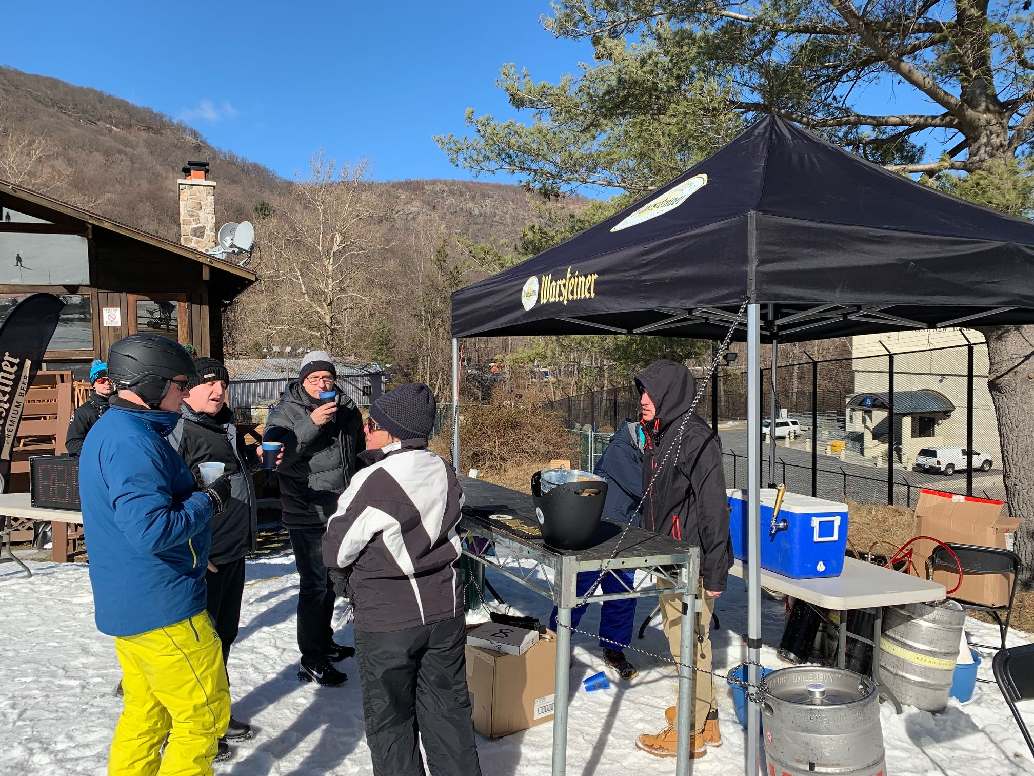 Polar Fest - Sponsor Interaction - Beer Tent