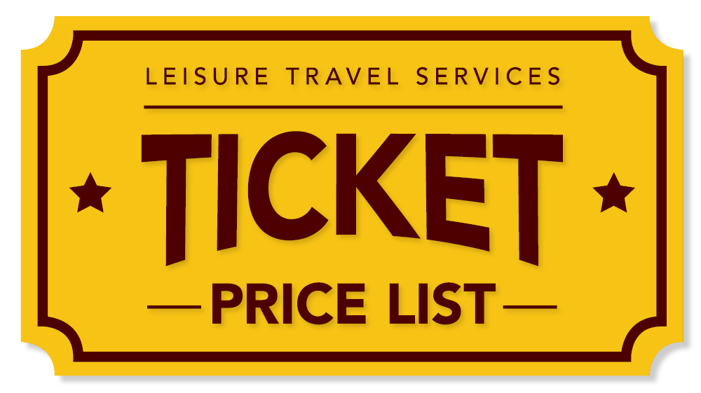 Ticket Price List