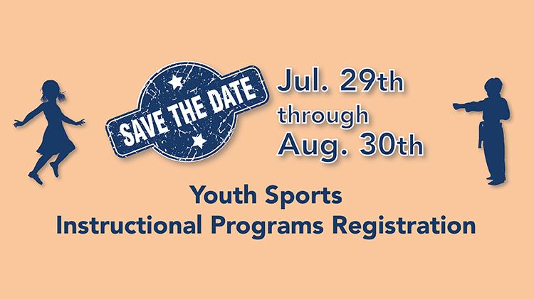 Youth Sports Instructional Programs Registration
