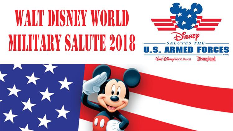 Walt Disney World Military Salute 2018