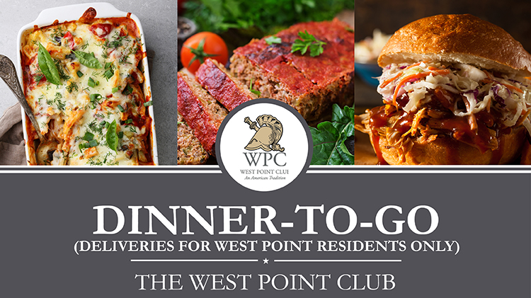 Dinner To Go Delivery Service for West Point Residents is here to stay!