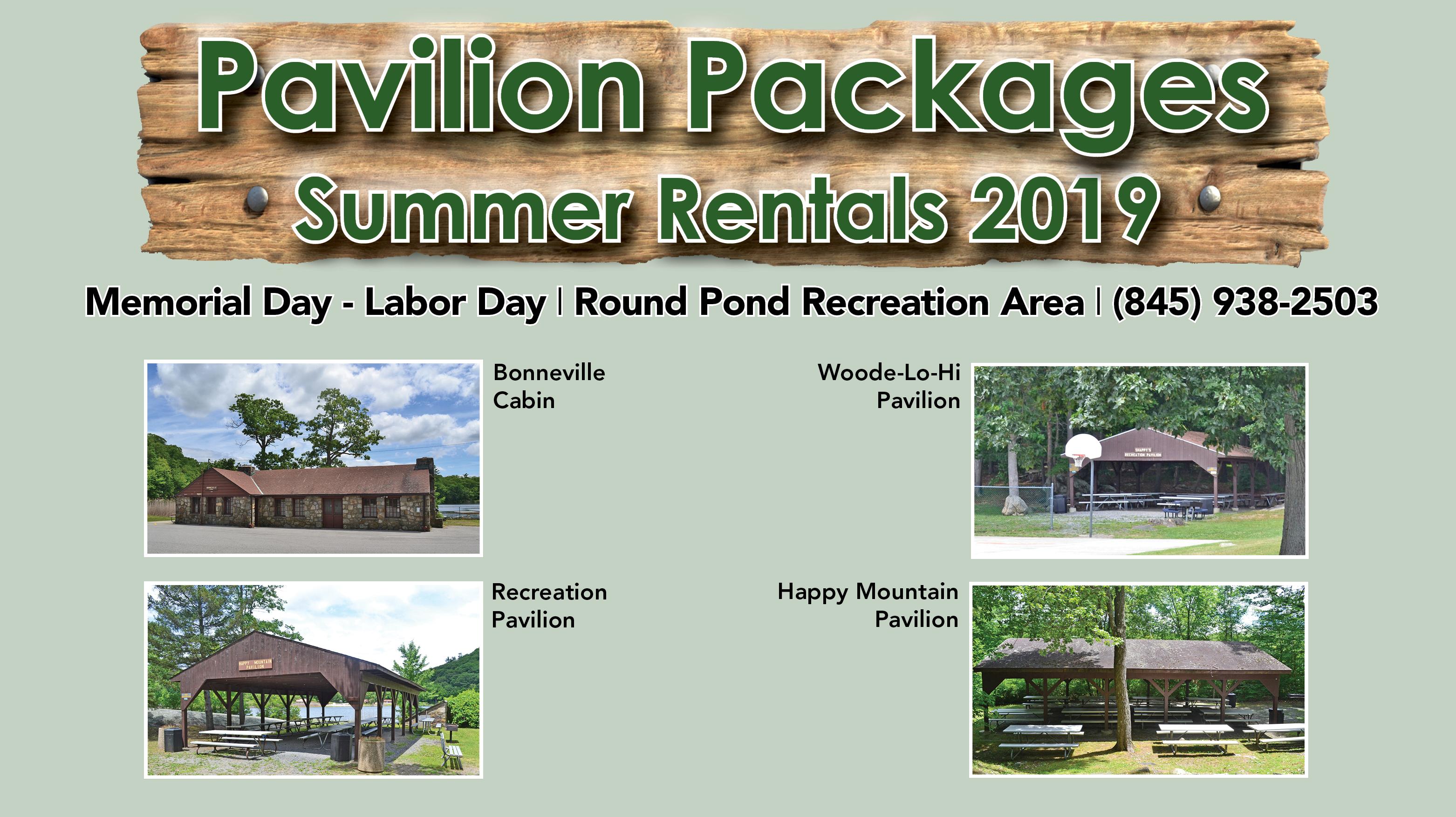 Pavilion Packages Summer 2019