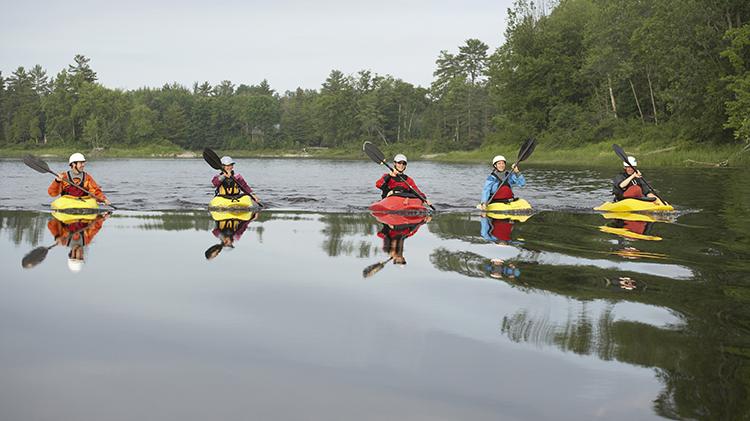 Family Friendly Kayaking