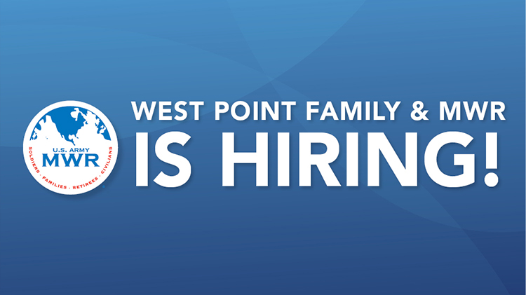 West Point Family & MWR is Hiring!