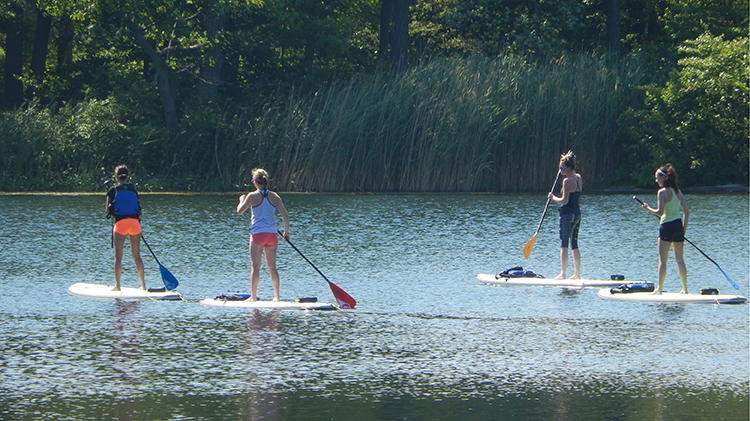 Intro to Stand Up Paddling