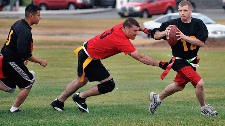 Unit Intramural Flag Football League