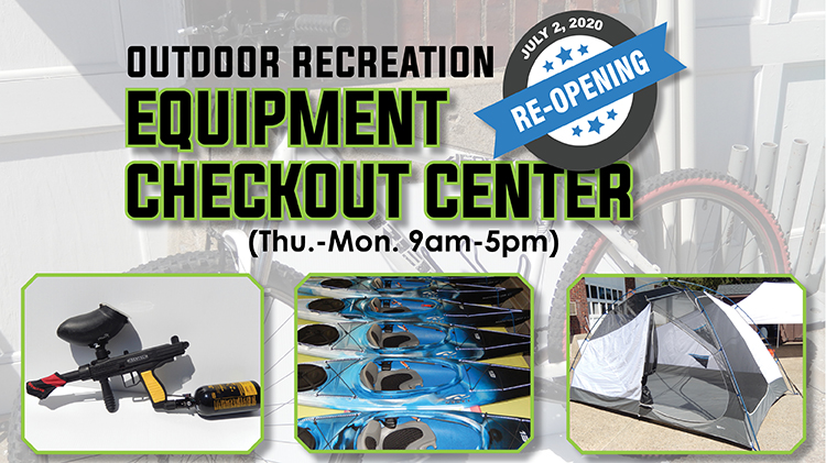 ODR Equipment Checkout Center Re-Opens!