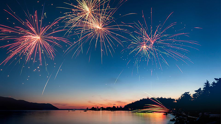 West Point Fireworks Display
