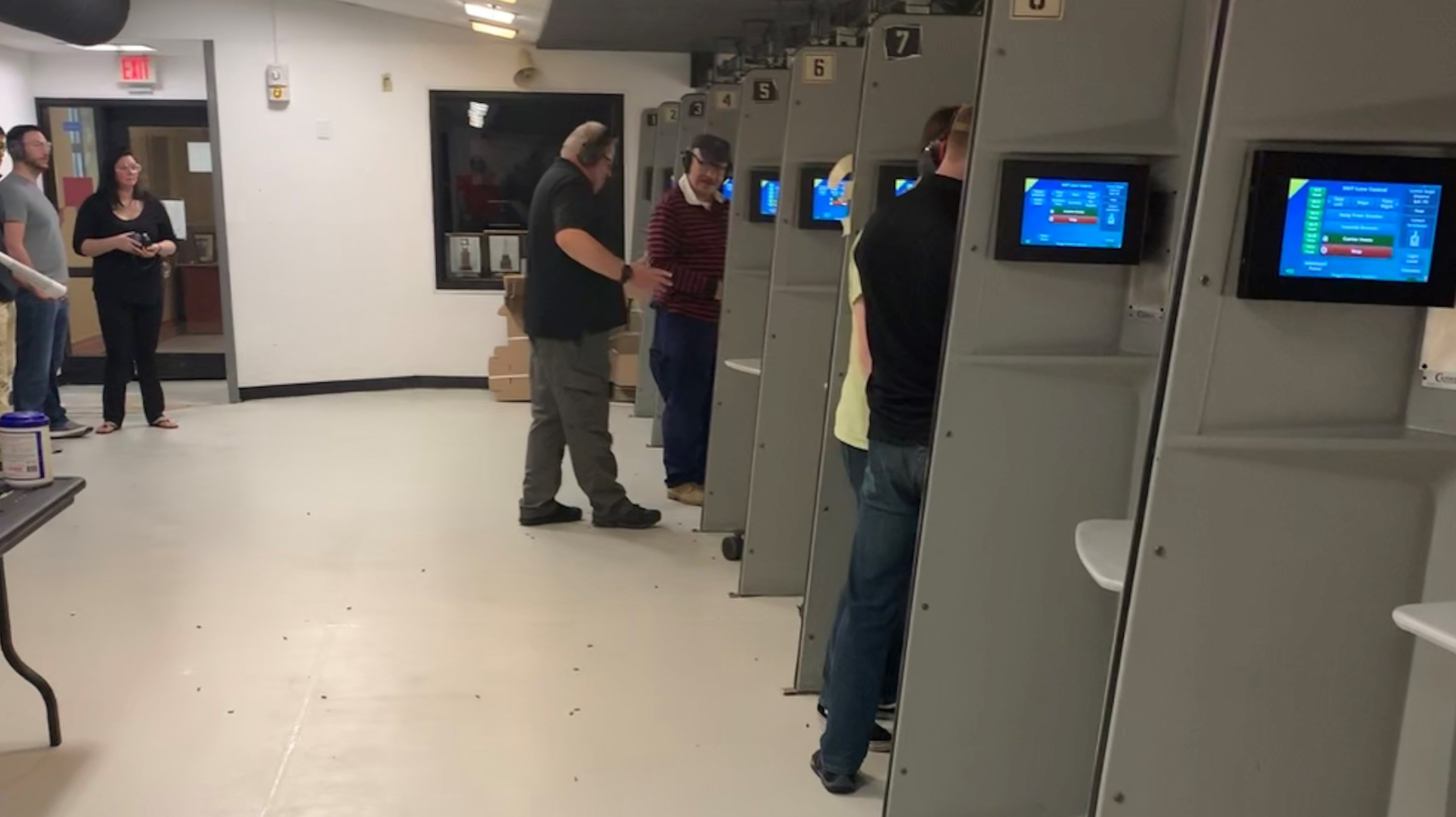 Second part of training at the Tronsrue Marksmanship Center.