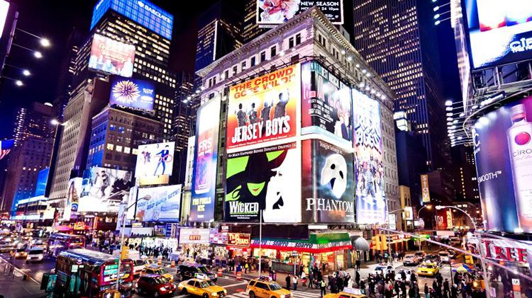 Theater Van to Broadway