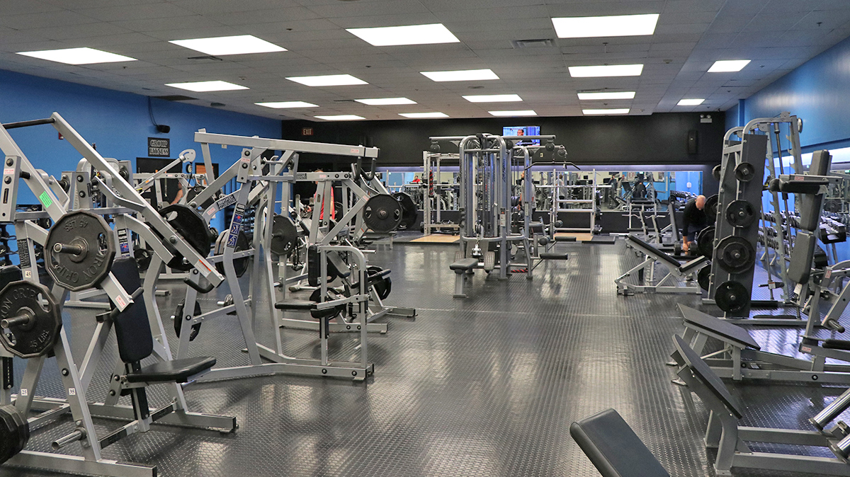 Inside Weight Room