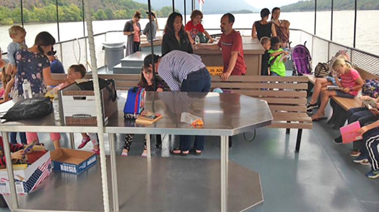 Home Schoolers Boat Ride