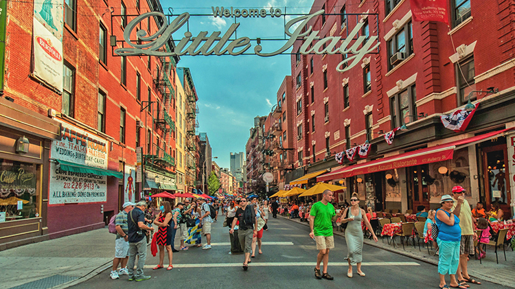 Dinner in Little Italy or Chinatown