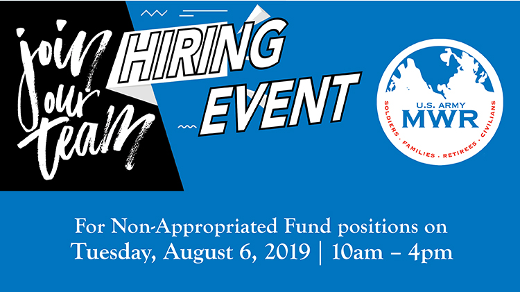 Join Our Team Hiring Event