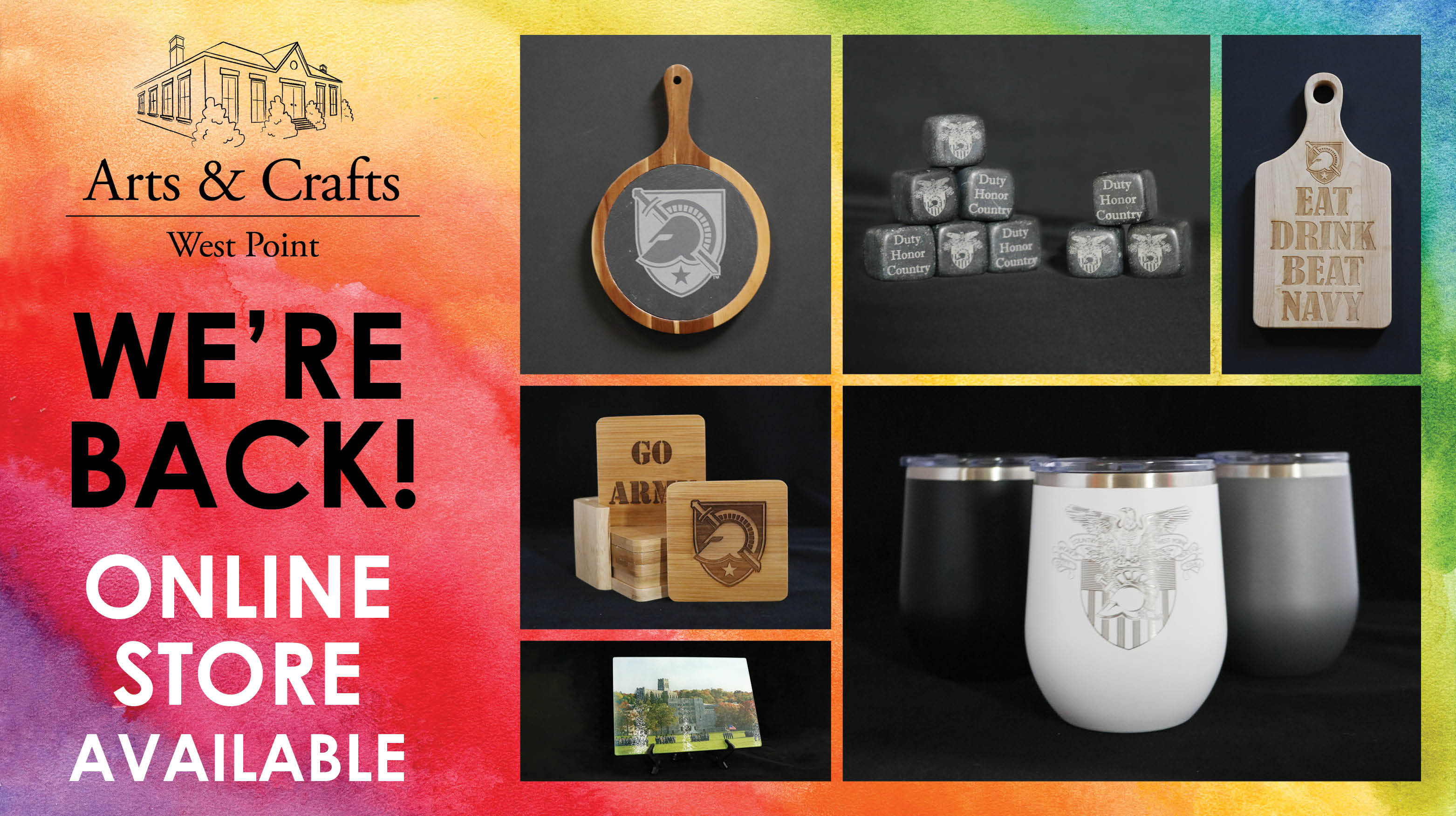 Arts and Crafts Online Store