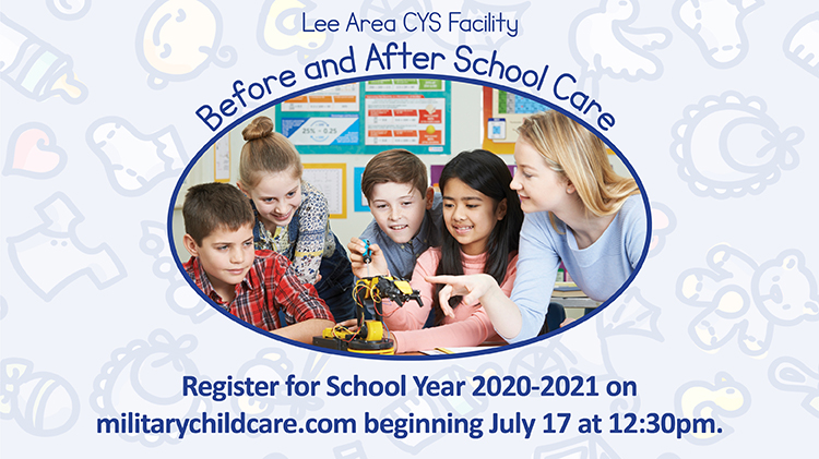 Lee Area CYS Facility Before and After School Care